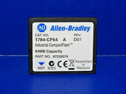 Allen Bradley 1784-CF64 /A Logic 556x Industrial CompactFlash Card 64MB