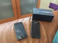 iPhones broken screen