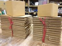 Cardboard packing boxes, small, packaging