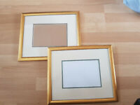 2 x Large Gold Frame Picture Photo Frame 36x30cm