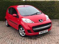 Peugeot, 107,Verve, Hatchback, 1 Owner, 998 (cc), 3 doors