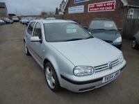1999 t vw golf 1.9 tdi diesel se 5 door, trade in bargain to clear. 30 + cars in stock.