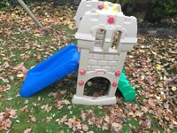 Little tikes climb and slide castle