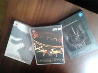 Bargain, Game of Thromes Original, series 1, 2, and 3, as new watched once Only £15 the Lot Bargain
