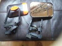 Set of towing mirrors