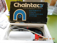 'Chaintec' Motor Cycle Automatic Final Drive Chain Lubricator