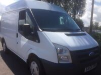 No Vat,. 2010 FORD TRANSIT SWB 2.2. TDCI, MID ROOF, WITH FSH