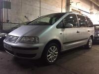 2005 VW VOLKSWAGEN SHARAN TDI MPV DIESEL 7 SEATS *SPARES OR REPAIRS* OCT 2017 MOT