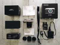 Complete Fuji X-E2 Kit (35mm prime lens + extras) - Everything to Get Started