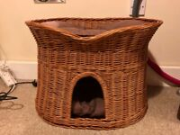 Cat Bed Basket House
