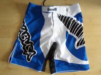 Hayabusa Chikara MMA Shorts Blue W 36