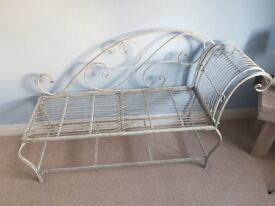 Metal Chaise Longue