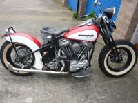 1941 Harley Davidson Motorcycle