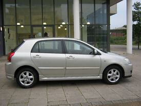2006 toyota corolla 5 door, 1.6 automatic, 1 owner, 12 mot, 42k f/s/h, hpi clear 100%