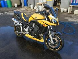 Yamaha Fazer fzs 1000 03 reg R1 bumblebee edition showroom condition finance available px welcome