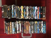 Various dvds and bluray movies