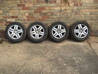 VW Golf GT Alloy Wheels with Tyres
