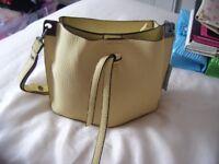New Yellow/Beige Handbag