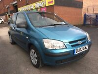 2003 Hyundai Getz 1.1 GSi 3dr - * CAMBELT CHANGED * MOT * GOOD RUNNER * PX WELCOME * BARGAIN