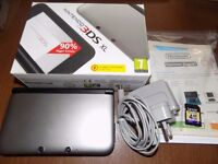 nintendo 3ds xl console look boxed vgc with charger memory card cheap