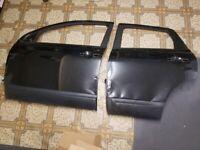 nissan qashqai 59 plate 2 bare black doors