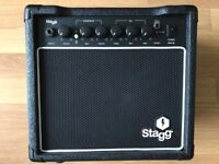 Stagg 10W RMS Guitar Amplifier with Overdrive - Boxed as New