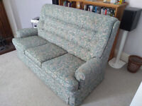 Parker Knoll 3 seater settee - FREE