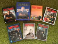 THE SOPRANOS DVDs complete series 1-6 + The Final Episodes Series 6