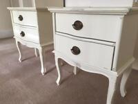 Stunning French Laura Ashley Bedside cabinets in Excellent condition
