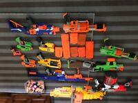 Bundle of Nerf guns