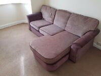 3 piece suite and armchair available