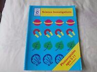 Stanley Thorne Science Investigation Book