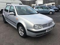Volkswagen golf 1.4 low mileage 12 months mot