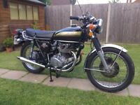 Honda CB450 K7 Classic bike Tax and MOT exempt Cafe racer