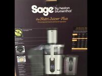 SAGE NUTRITION JUICER PLUS BJE520 by HESTON BLUMENTHAL