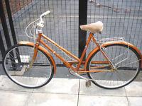 Gorgeous Vintage Viscount 3 speed ladies bike, Serviced Frame 21