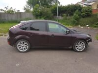 Ford focus ze tec s 1,6 petrol damaged repairable open to all offers