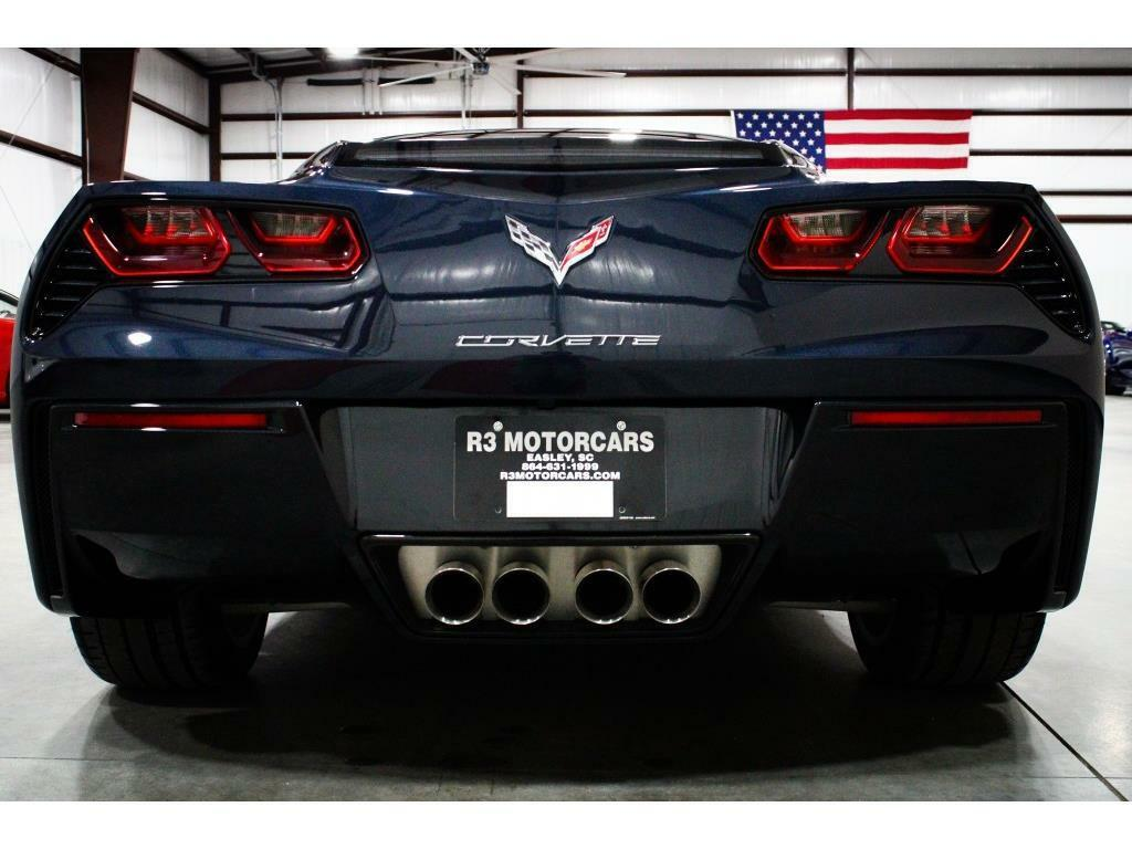 2014 Blue Chevrolet Corvette Stingray 2LT   C7 Corvette Photo 4