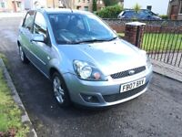 * FORD FIESTA 1.2 ZETEC CLIMATE 2007 * only 54k miles * Ideal First Car with FSH *