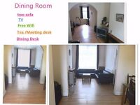 A large double room and a single room £90-£65 p/w ALL BILLS INCLUDED