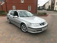 2004/54 SAAB 9-5 2.3 T SPORT AUTOMATIC ESTATE FULL SERVICE HISTORY 2 F KEEPERS SAT NAV