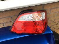 Subaru tail lights