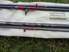 SHAKESPEAR FLYMASTER GRAPHITE FLY ROD NEW CONDITION