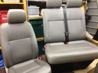 T5, T5.1, T6 full set of front seats. Single drivers and twin passenger.