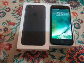 Iphone 7 Vodafone 32gp black brand new condition
