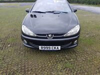 206 cc allure new mot full leather private plate goes with car