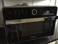 Microwave combination cooker