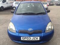 Toyota Yaris 1.0 VVT-i Colour Collection 3dr LOW MILEAGE, TOP OF THE RANGE MODEL