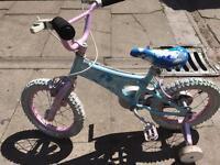 Girl children bike