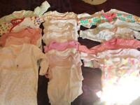 Baby girl clothes bundle. 0-3 months